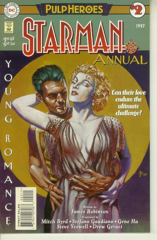 STARMAN ANNUAL #2 (1997) NM!