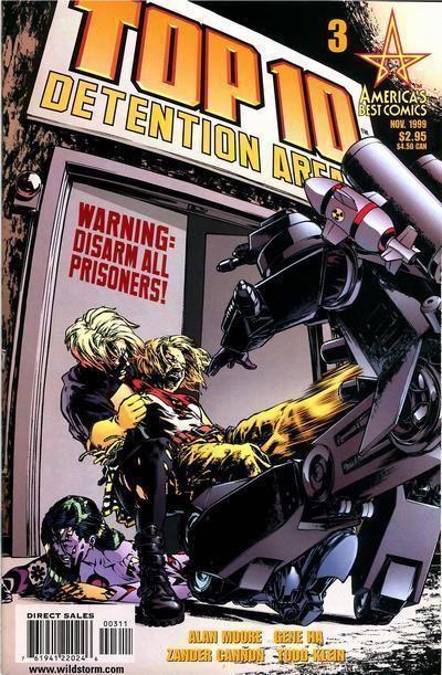 TOP 10 #3 (America's Best Comics) NM! ~ Alan Moore