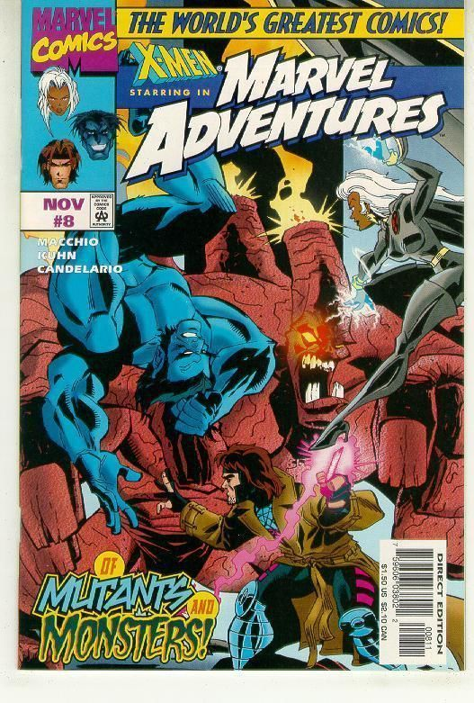 MARVEL ADVENTURES #8 NM! ~ X-MEN