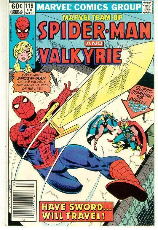 MARVEL TEAM-UP #116 ~ SPIDER-MAN!
