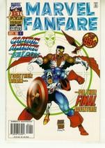 MARVEL FANFARE #1 (1996 Series) NM! ~ Captain America - $1.00