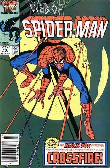 WEB of SPIDER-MAN #14 (1985 Series)