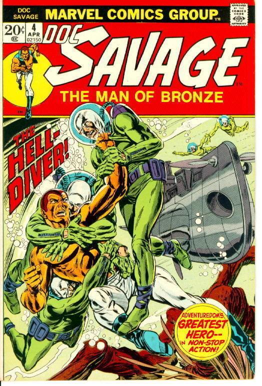 DOC SAVAGE #4 (Marvel Comics, 1972 Series)