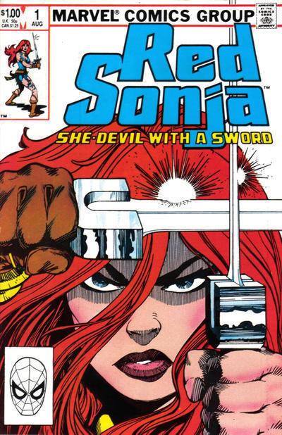 RED SONJA #1 (1983 Series) NM!