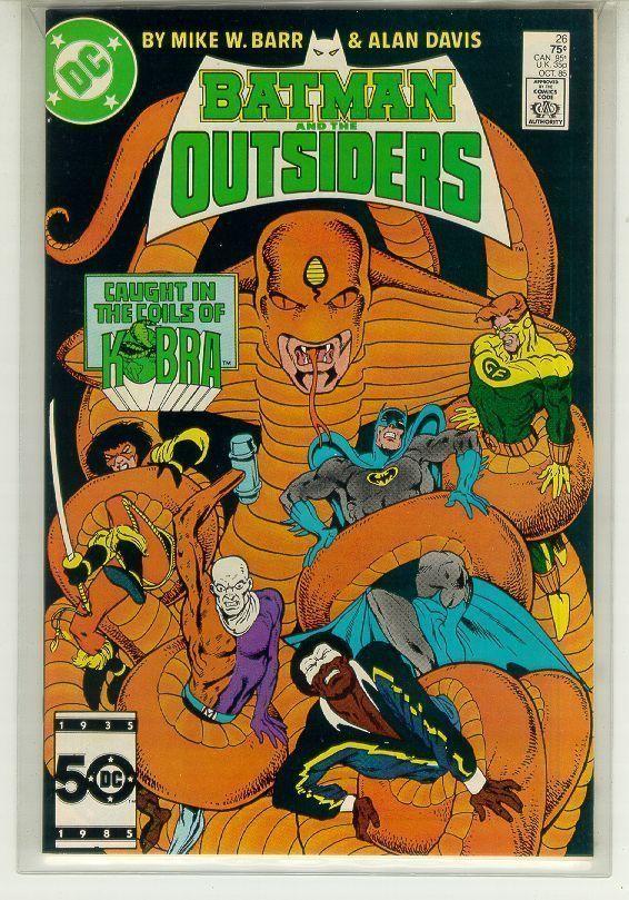 BATMAN and the OUTSIDERS #26 (DC Comics, 1983 Series) NM!