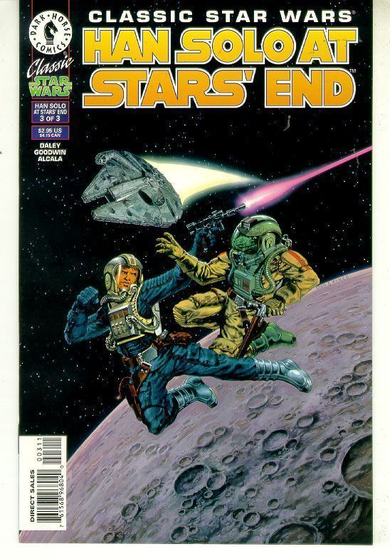 CLASSIC STAR WARS: HAN SOLO at STARS' END #3 NM!