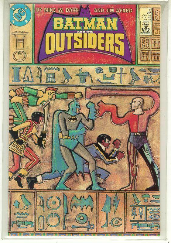 BATMAN and the OUTSIDERS #17 (DC Comics, 1983 Series) NM!