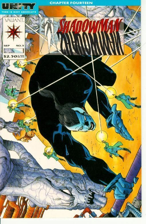 Shadowman #5 (Valiant) ~ NM! ~ UNITY