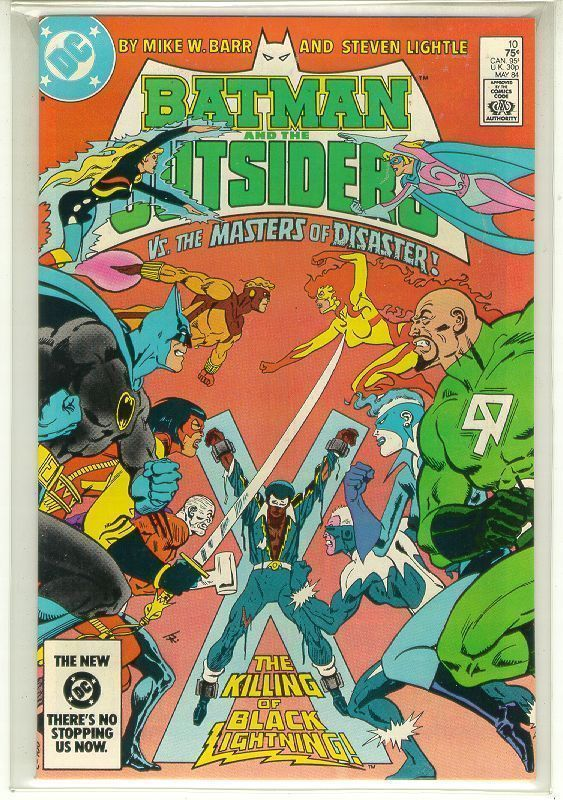 BATMAN and the OUTSIDERS #10 (DC Comics, 1983 Series) NM!