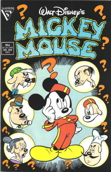 MICKEY MOUSE #253 (Gladstone) NM!