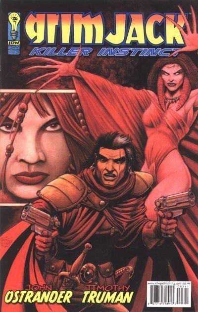 GRIMJACK: KILLER INSTINCT #3 (IDW, 2005) NM!
