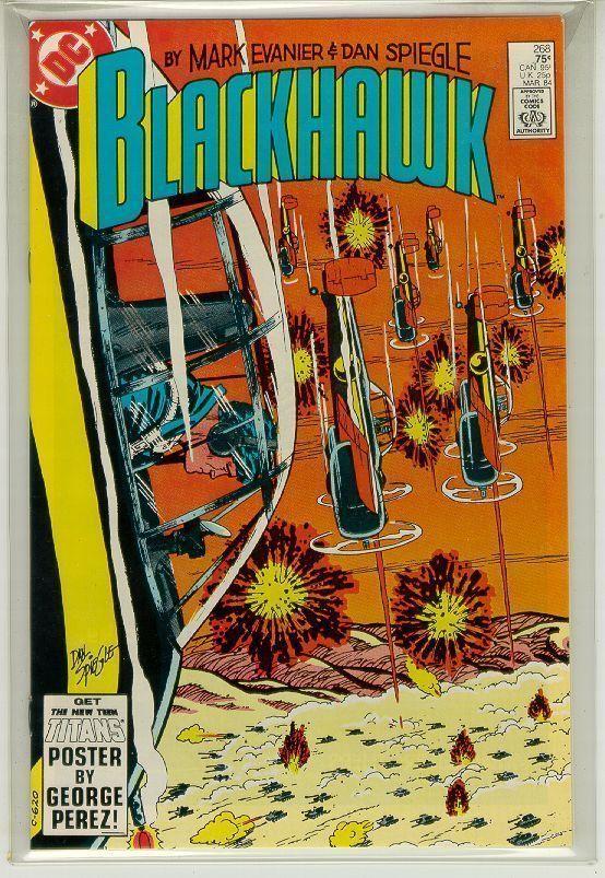 BLACKHAWK #268 (DC Comics, 1984) NM!