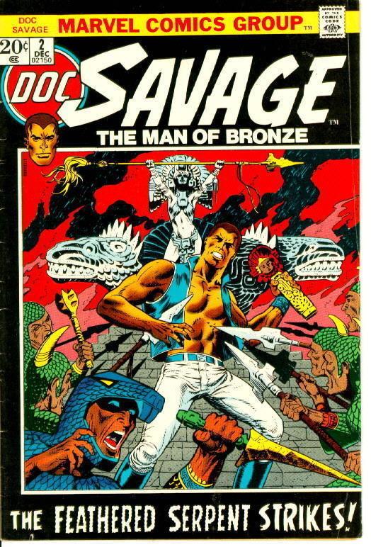 DOC SAVAGE #2 (Marvel Comics, 1972 Series)