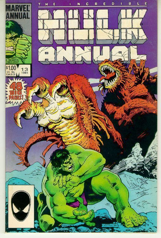 INCREDIBLE HULK ANNUAL #13 (1984)