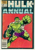 INCREDIBLE HULK ANNUAL #12 (1983) - $1.00