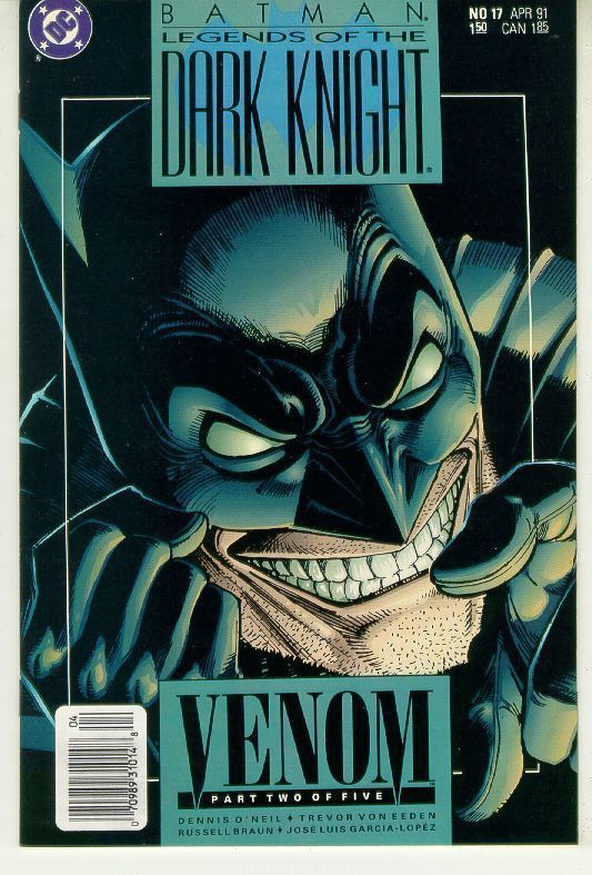 BATMAN LEGENDS OF THE DARK KNIGHT #17 (DC Comics) NM!