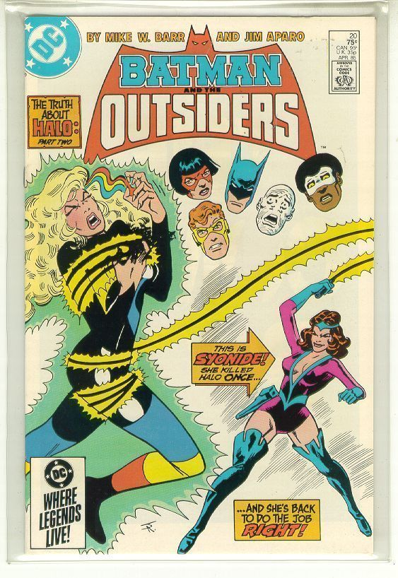 BATMAN and the OUTSIDERS #20 (DC Comics, 1983 Series) NM!