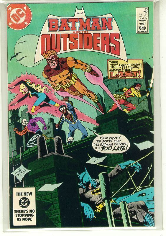 BATMAN and the OUTSIDERS #13 (DC Comics, 1983 Series) NM!