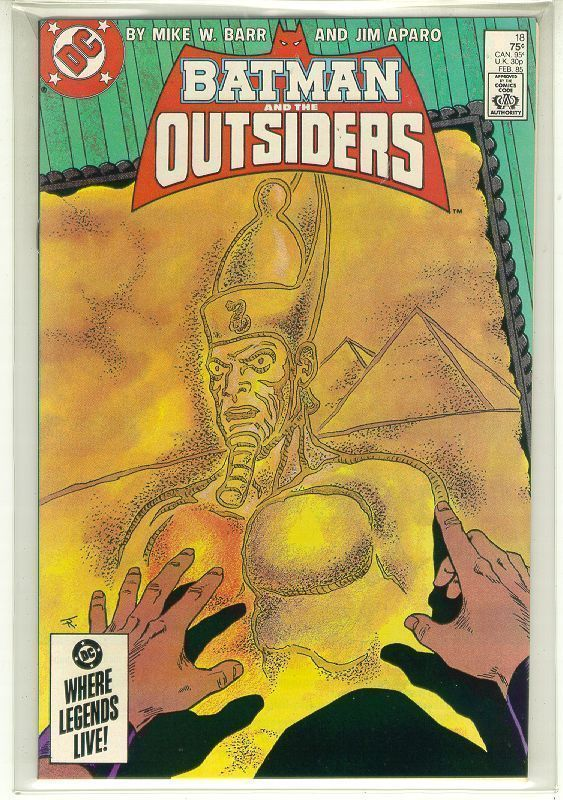 BATMAN and the OUTSIDERS #18 (DC Comics, 1983 Series) NM!