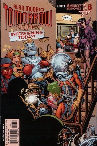 TOMORROW STORIES #6 (America's Best Comics) NM! ~ Alan Moore
