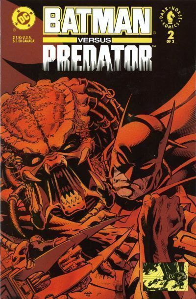 BATMAN vs PREDATOR #2 (Newsstand) NM!
