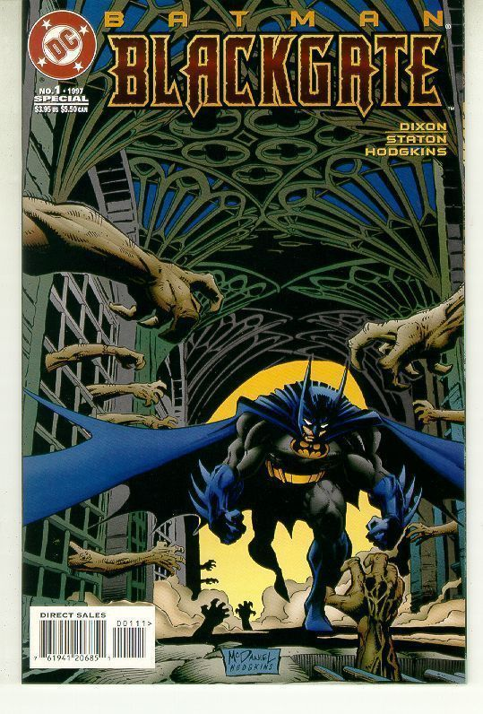 BATMAN: BLACKGATE #1 (1997) NM!