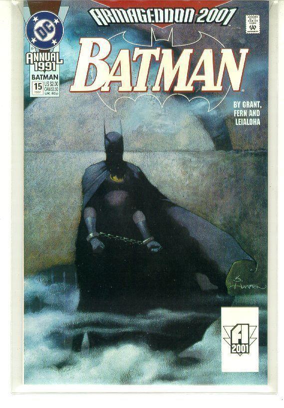 BATMAN ANNUAL #15 (1991) NM!
