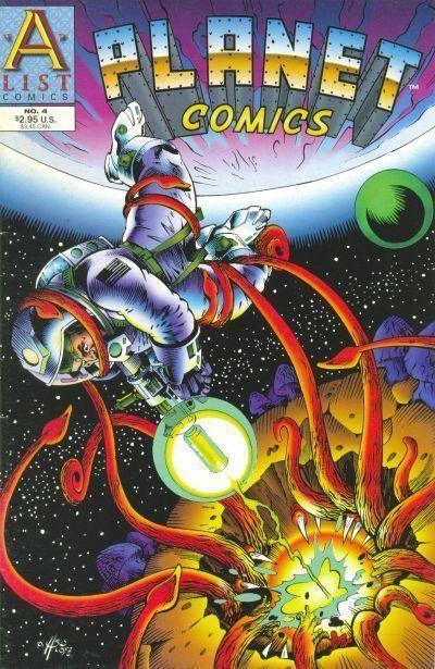PLANET COMICS #4 (A-List Comics, 1998) NM!