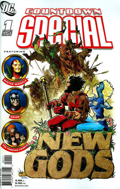 COUNTDOWN SPECIAL: NEW GODS #1 (2008) NM!