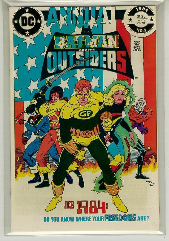 BATMAN and the OUTSIDERS ANNUAL #1 (DC Comics, 1984) NM!