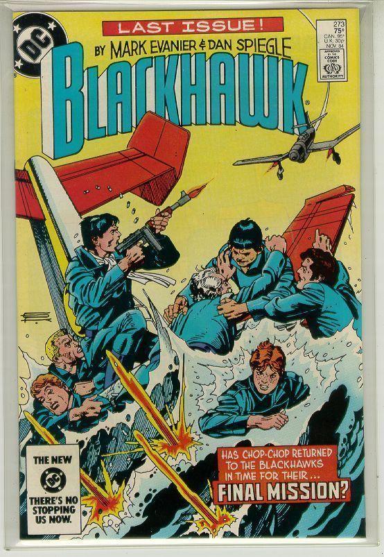 BLACKHAWK #273 (DC Comics, 1984) NM!