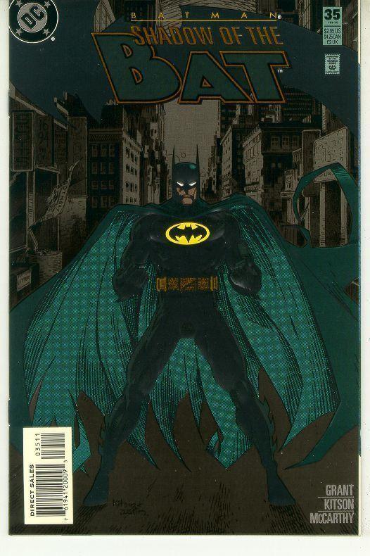 BATMAN SHADOW OF THE BAT #35 (DC Comics) NM!
