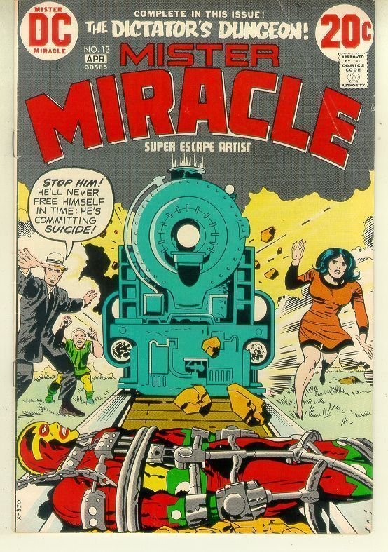 MISTER MIRACLE #13 (1971 Series)