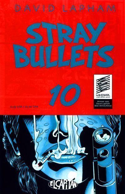STRAY BULLETS #10 NM! ~ David Lapham