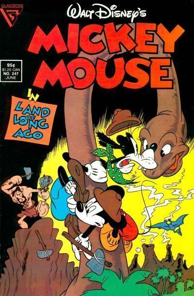 MICKEY MOUSE #247 (Gladstone) NM!