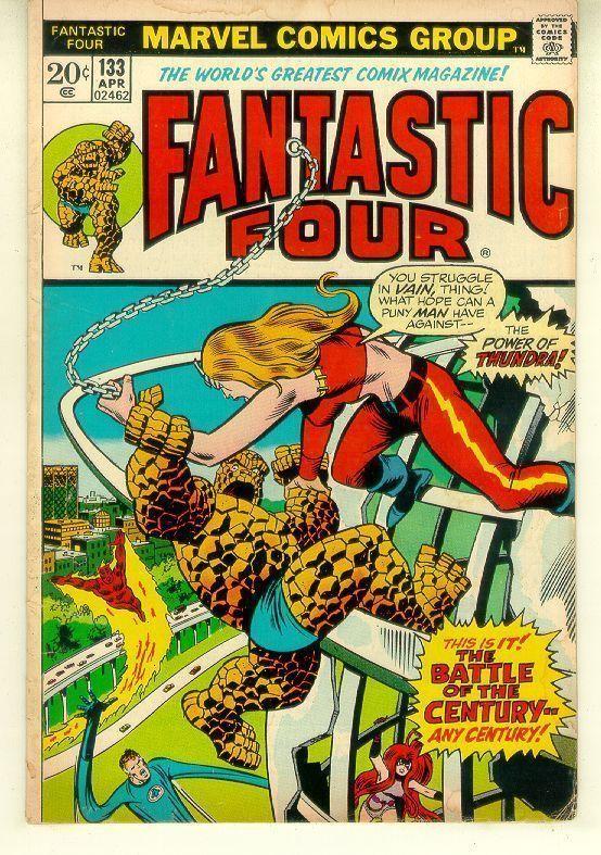 FANTASTIC FOUR #133 (1961 Series)