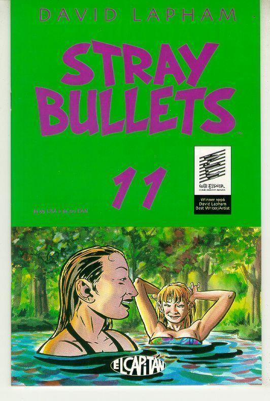 STRAY BULLETS #11 NM! ~ David Lapham