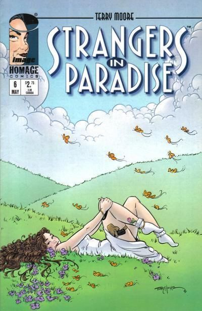 STRANGERS IN PARADISE #6 (Homage Studios, 1996 Series) NM!