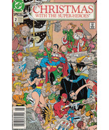 CHRISTMAS WITH THE SUPER-HEROES #2 (DC Comics, 1989) NM! - $2.50