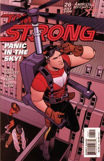 TOM STRONG #26 NM! ~ Alan Moore