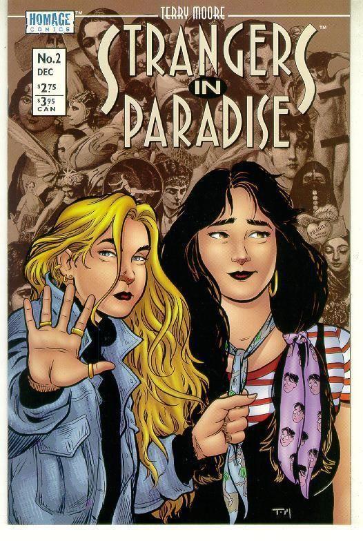 STRANGERS IN PARADISE #2 (Homage Studios, 1996 Series) NM!