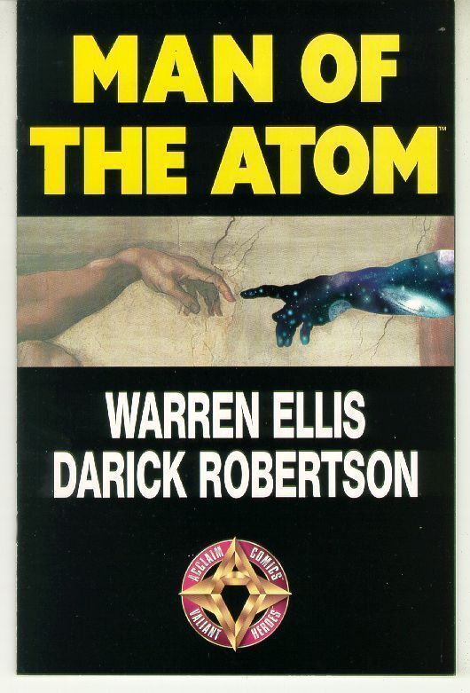 MAN of the ATOM (Acclaim) NM! ~ Warren Ellis