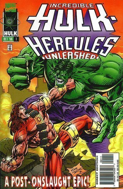 INCREDIBLE HULK: HERCULES UNLEASHED #1 NM!