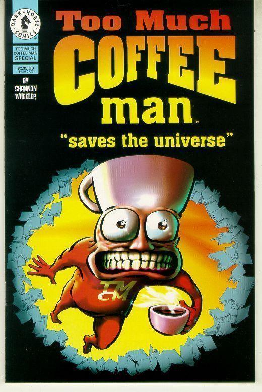 TOO MUCH COFFEE MAN SPECIAL (Dark Horse, 1997) NM!