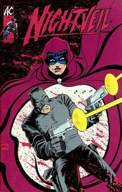 NIGHTVEIL #6 (AC Comics, 1984 Series) NM!