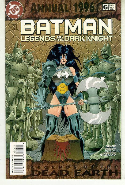 BATMAN LEGENDS OF THE DARK KNIGHT ANNUAL #6 (DC Comics, 1996) NM!