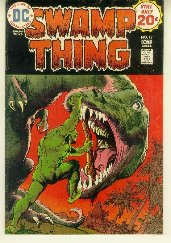 SWAMP THING #12 (1972 Series)