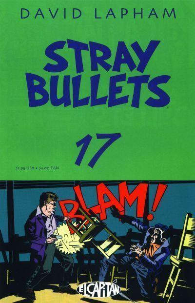 STRAY BULLETS #17 NM! ~ David Lapham