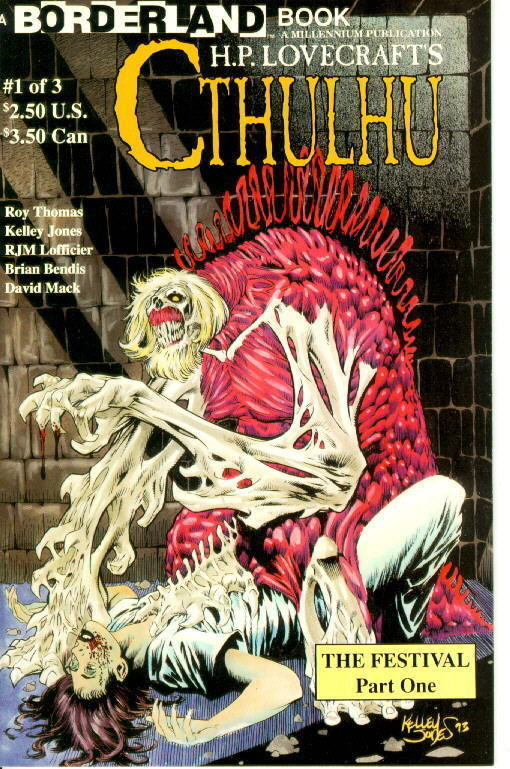 H.P. Lovecraft's Cthulhu: The Festival #1 NM!