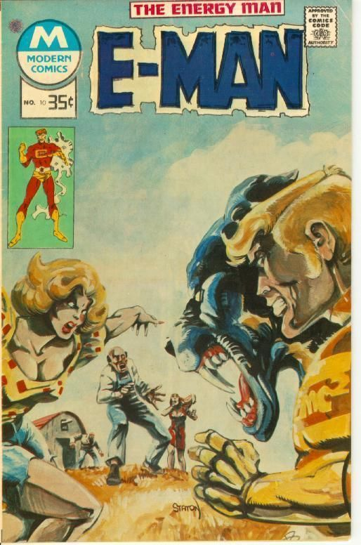 E-MAN #10 (Modern Comics Reprint, 1978)